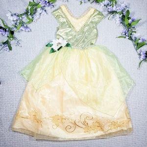 Disney Store Princess Tiana green/yellow dress